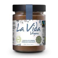 Crema de Chocolate Vegana La Vida Vegan envase de 270g del fabricante Biocop (Cremas de Untar)