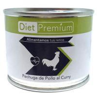 Lata de Pechuga de Pollo envase de 100g del fabricante Diet Premium (Carnes en Conserva)