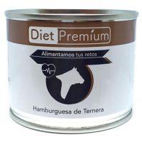 Lata de Hamburguesa de Ternera de 100g del fabricante Diet Premium (Comida preparada)
