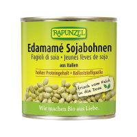 Canned soy beans edamame rapunzel -200g