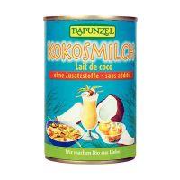Leche de coco rapunzel envase de 400g del fabricante Biocop (Bebidas Vegetales)