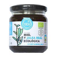 Miel con Jalea Real Toca envase de 270g de la marca Biocop (Dulces y galletas)
