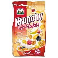 Muesli Krunchy Flakes Frutas Barnhouse envase de 375g de la marca Biocop (Cereales y Legumbres)