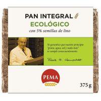 Pan de centeno 5% semillas de lino Pema de 375g del fabricante Biocop (Panaderia Dietetica)