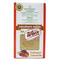 Preparado 4 cereales Werz envase de 200g de la marca Biocop (Panaderia Dietetica)