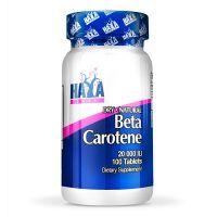 Betacaroteno 20000iu envase de 100 softgels de la marca Haya Labs (Vitaminas)