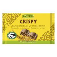 Snack Crispy chocolate rapunzel de 100g de la marca Biocop (Aperitivos para picar)