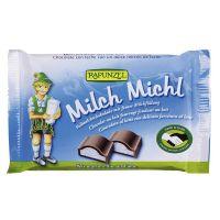 Snack de Chocolate con leche milch rapunzel de 100g de Biocop (Dulces y galletas)