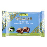 Snack de chocolate con leche rapunzel de 100g del fabricante Biocop (Dulces y galletas)