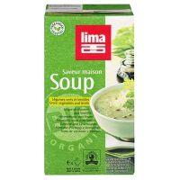 Sopa de verduras y lentejas lima - 1l