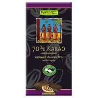 Tableta de chocolate extra negro Rapunzel de 80g de Biocop (Dulces y galletas)