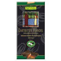 Tableta de chocolate con almendras Rapunzel envase de 80g de la marca Biocop (Dulces y galletas)