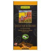 Tableta de chocolate con jengibre Rapunzel envase de 80g de Biocop (Aperitivos para picar)