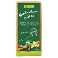 Tableta de chocolate con leche con frutos secos rapunzel envase de 200g del fabricante Biocop (Dulces y galletas)
