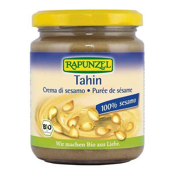 Tahín rapunzel envase de 250g de Biocop (Cremas de otros Frutos Secos)