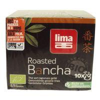 Té Verde Tostado Bancha Lima de 10 sobres de Biocop (Infusiones y tisanas)