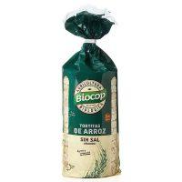 Tortitas de arroz sin sal de 200g de la marca Biocop (Aperitivos para picar)