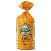 Tortitas de maíz envase de 120g del fabricante Biocop (Aperitivos para picar)