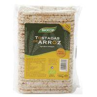 Tostadas de arroz de 130g de la marca Biocop (Panaderia Dietetica)