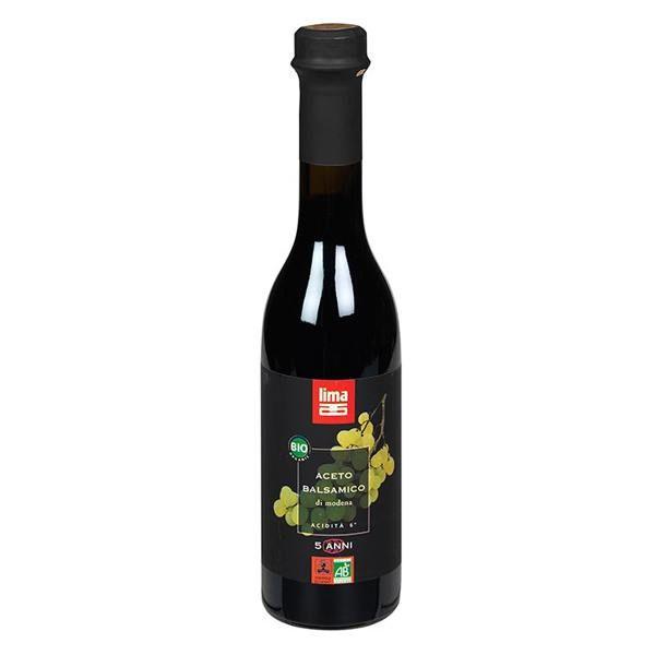Vinagre Balsámico Lima envase de 250ml de la marca Biocop (Aderezos y Sazonadores bajos en Sodio)