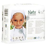 Naty diaper n4 of 7 to 18 kg - 27units