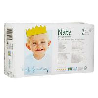 Naty diaper n2 from 3 to 6 kg - 34 units