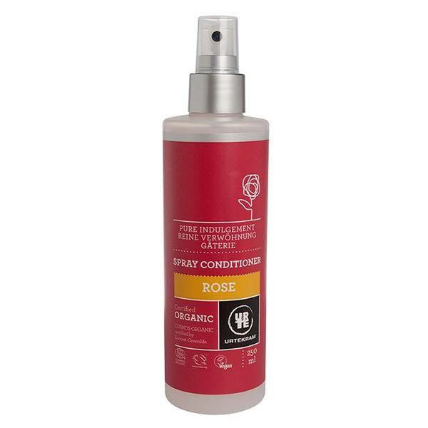 Acondicionador spray Rosas Urtekram de Biocop