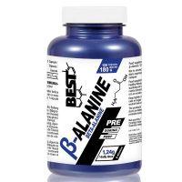 Beta alanina envase de 120 cápsulas del fabricante Best Protein (Beta-Alanina)
