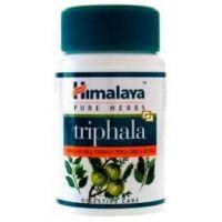 Triphala de 60 cápsulas de la marca Himalaya Herbal Healthcare (Digestivos)