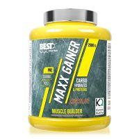 Maxx gainer envase de 2.5 kg del fabricante Best Protein (Ganadores de Peso con proteína)