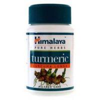 Turmeric envase de 60 cápsulas del fabricante Himalaya Herbal Healthcare (Formulas Mejoras Articulares)