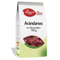 Arándano sin Azúcar Añadido Bio envase de 150 g de la marca El Granero Integral (Frutos Secos)