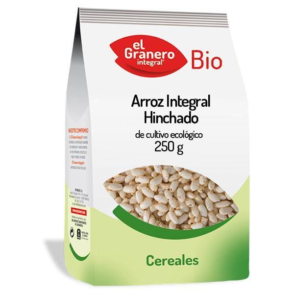 Arroz integral hinchado bio de 250 g de El Granero Integral (Alimentación Saludable)