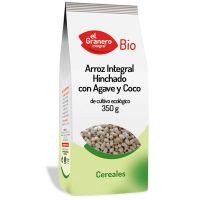 Arroz Integral hinchado con agave y coco bio - 350 g [Granero]