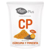 Cúrcuma y Pimienta Bio de 200 g de la marca El Granero Integral (SuperFoods)