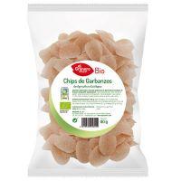Chips de Garbanzos bio envase de 80g del fabricante El Granero Integral (Aperitivos para picar)