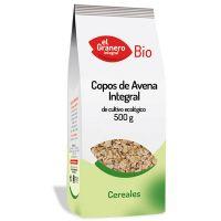 Copos de Avena Integral Bio de 500 g del fabricante El Granero Integral (Cereales y Legumbres)