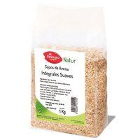 Copos Suaves de Avena Integral envase de 1 kg de la marca El Granero Integral (Cereales y Legumbres)