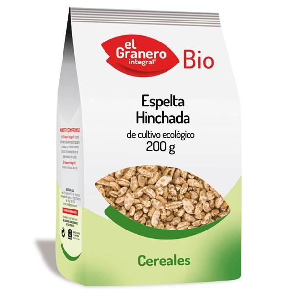Espelta Hinchada bio de 200 g del fabricante El Granero Integral (Cereales y Legumbres)