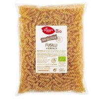 Fusilli de 4 cereales sin Gluten Bio - 500 g