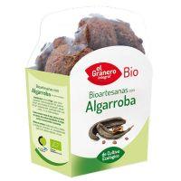 Galletas Artesanas con Algarroba Bio envase de 250 g del fabricante El Granero Integral (Galletas Proteicas  Bajas en Calorias)