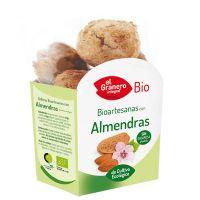 Galletas Artesanas con Almendra Bio envase de 250 g del fabricante El Granero Integral (Galletas Proteicas  Bajas en Calorias)