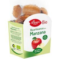 Galletas Artesanas con Manzana Bio de 250 g de El Granero Integral (Galletas Proteicas  Bajas en Calorias)