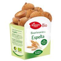 Galletas Artesanas de Espelta Bio de 220 g de la marca El Granero Integral (Galletas Proteicas  Bajas en Calorias)