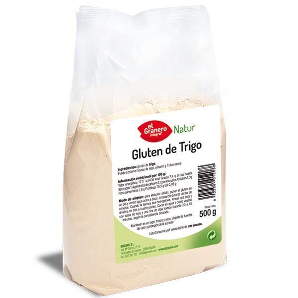 Gluten de Trigo de 500 g de El Granero Integral (Cereales y Legumbres)