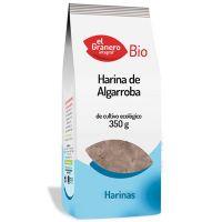 Harina de Algarroba Bio envase de 350 g del fabricante El Granero Integral (Cereales y Legumbres)