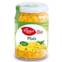 Maíz dulce cocido bio de 369 g de El Granero Integral (Alimentos en Conserva)