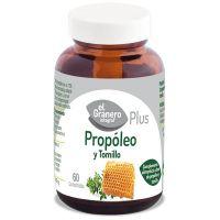 Propóleo + Tomillo envase de 60 comprimidos del fabricante El Granero Integral (Sistema Inmunológico)