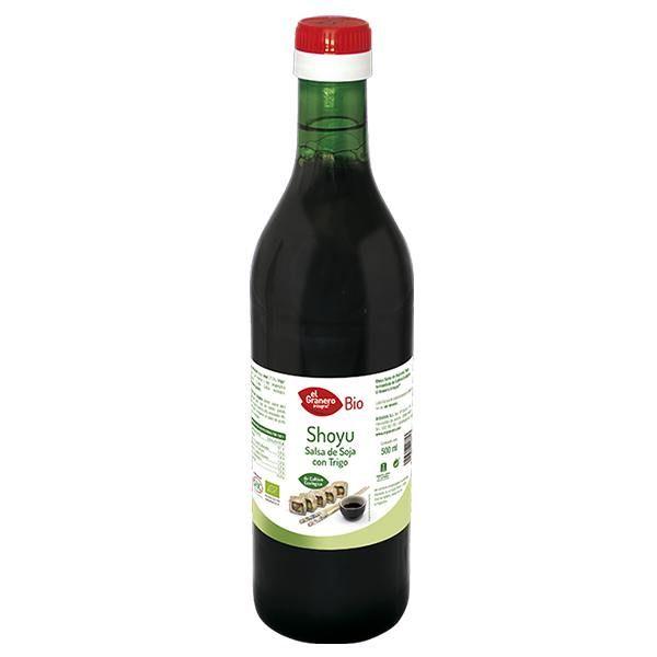 Shoyu soy sauce and wheat bio - 500 ml