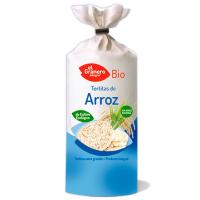 Tortitas de arroz bio de 100 g de El Granero Integral (Pancakes, Tortillas y Creps)